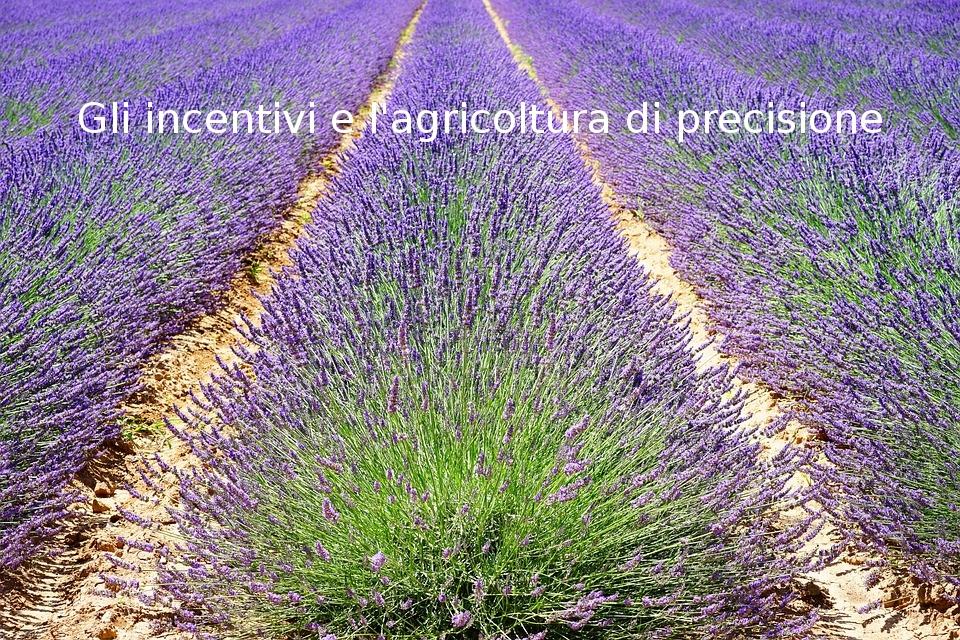 Incentivi per l'agricoltura di precisione